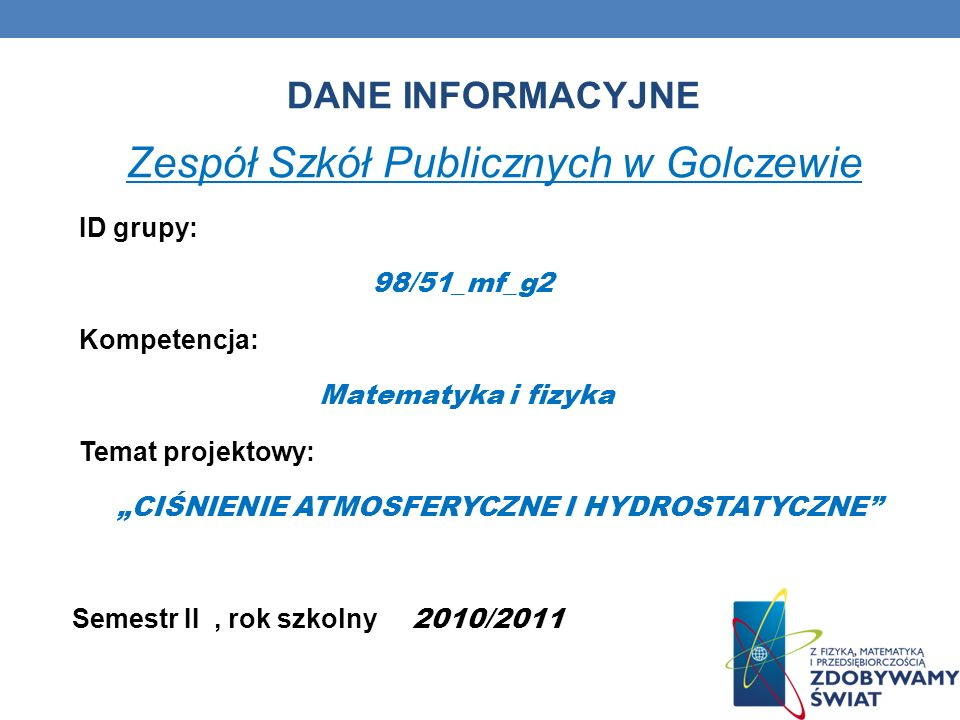 Zespół Szkół Publicznych w Golczewie