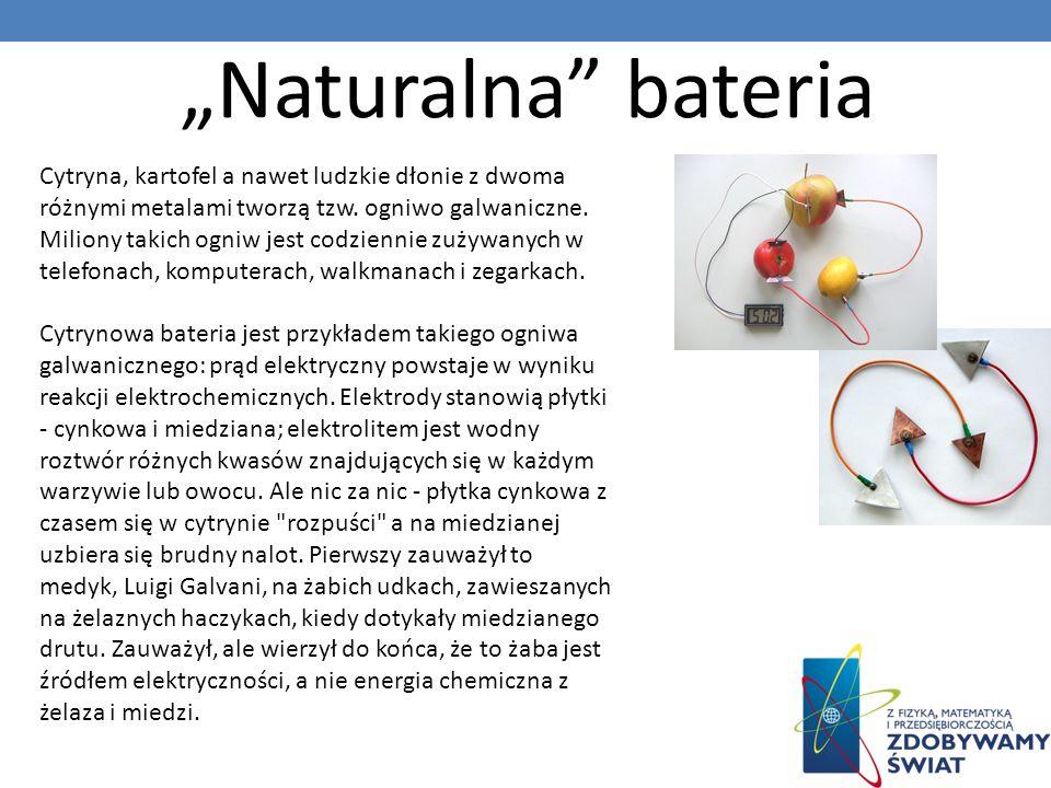 """""""Naturalna bateria"""