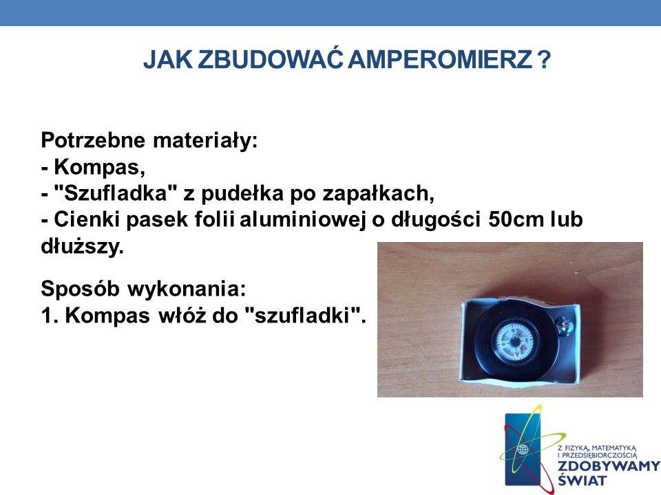 Jak zbudować amperomierz