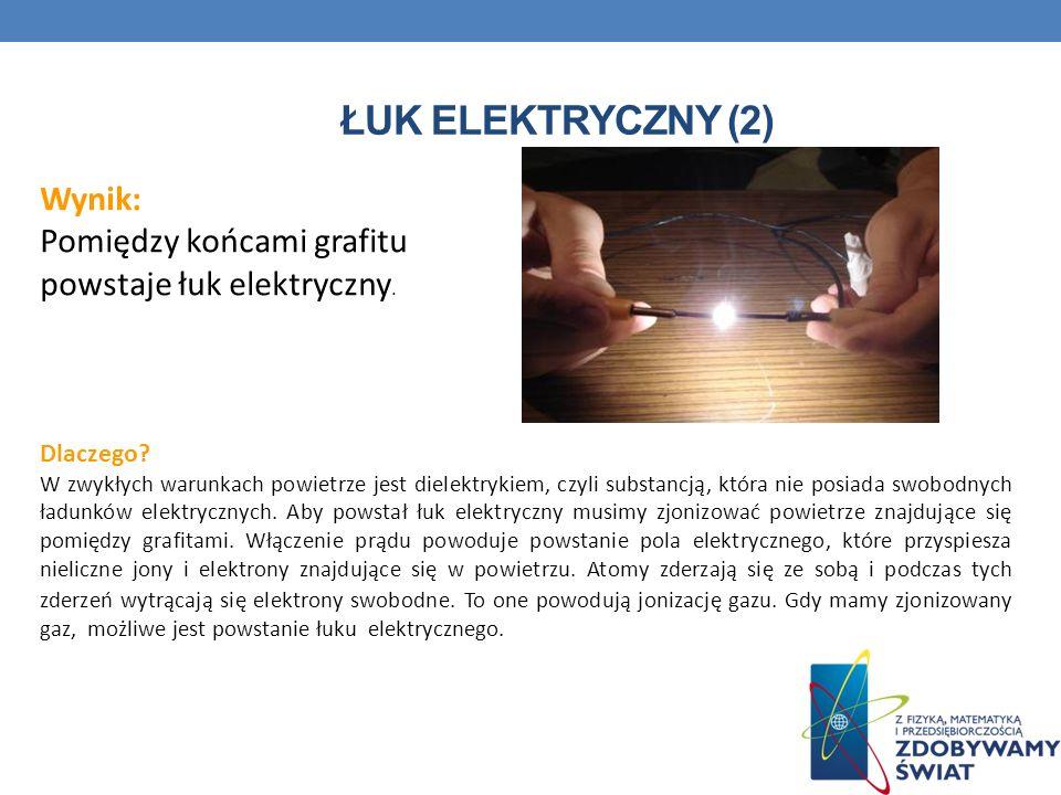 Łuk elektryczny (2) Wynik: