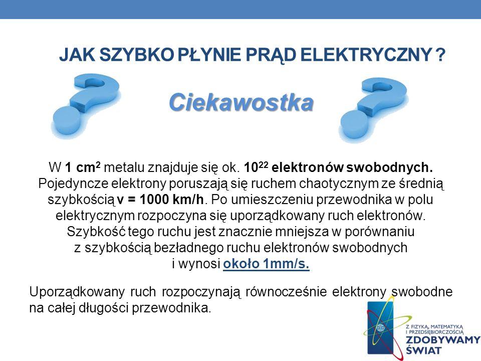 Jak szybko płynie prąd elektryczny