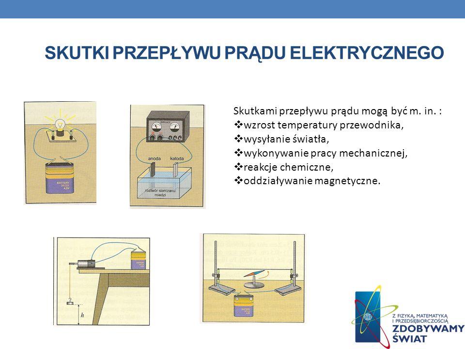 Skutki przepływu prądu elektrycznego