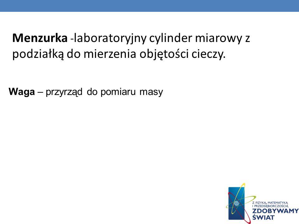 Menzurka -laboratoryjny cylinder miarowy z