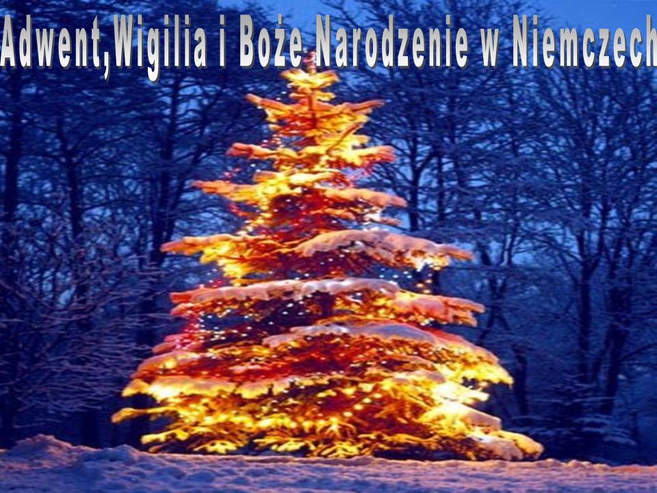 Adwent,Wigilia i Boże Narodzenie w Niemczech