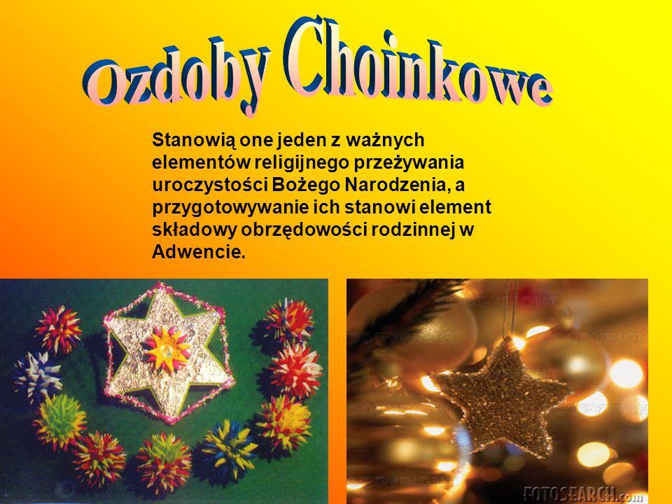 Ozdoby Choinkowe