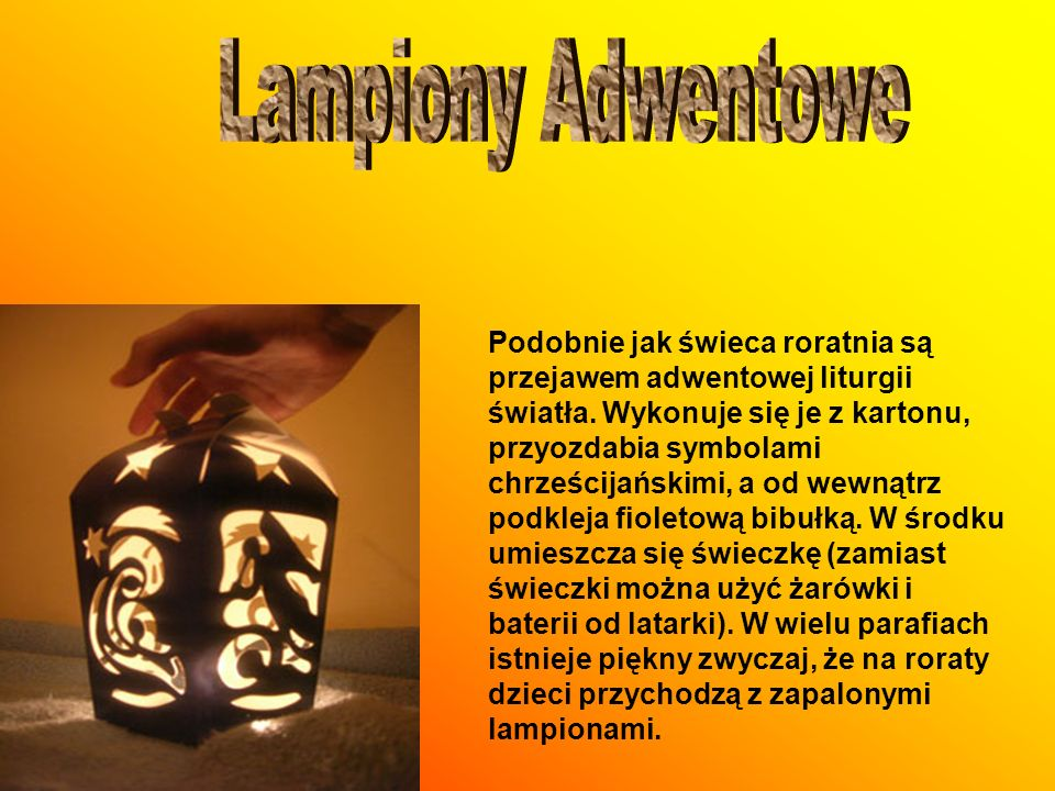 Lampiony Adwentowe