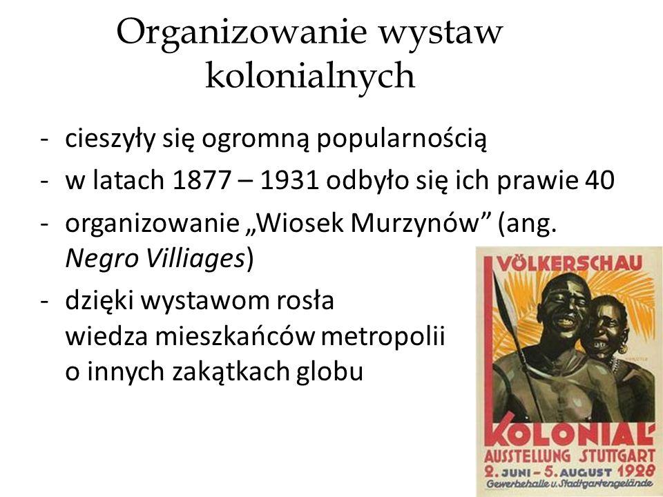Organizowanie wystaw kolonialnych