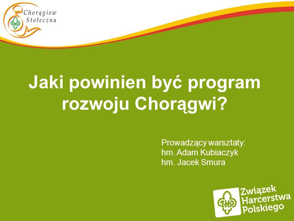 Jaki powinien być program rozwoju Chorągwi