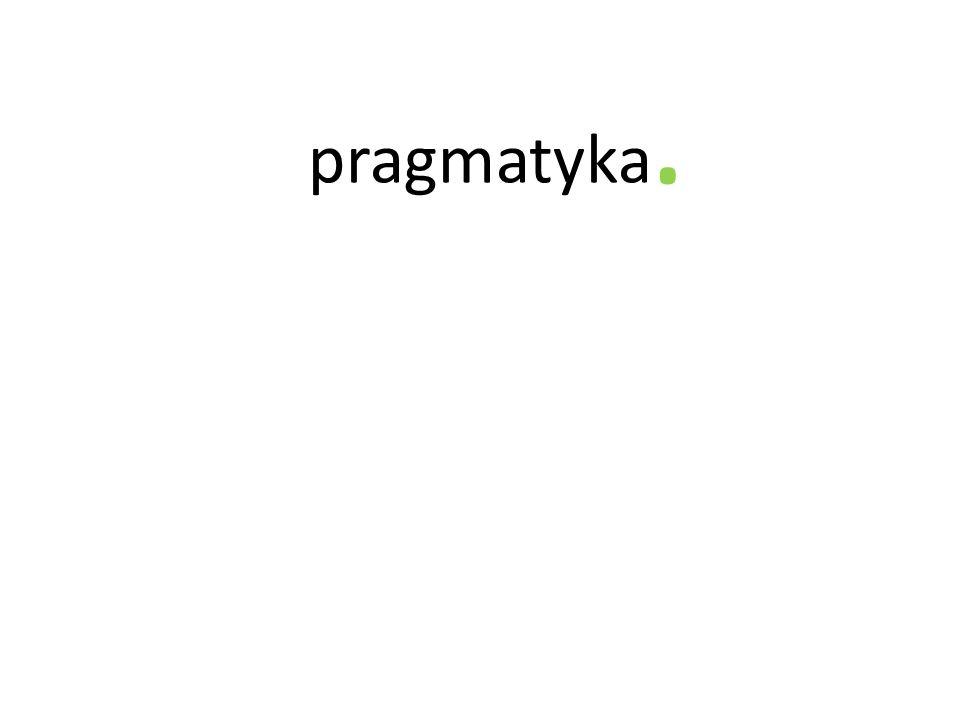 . pragmatyka
