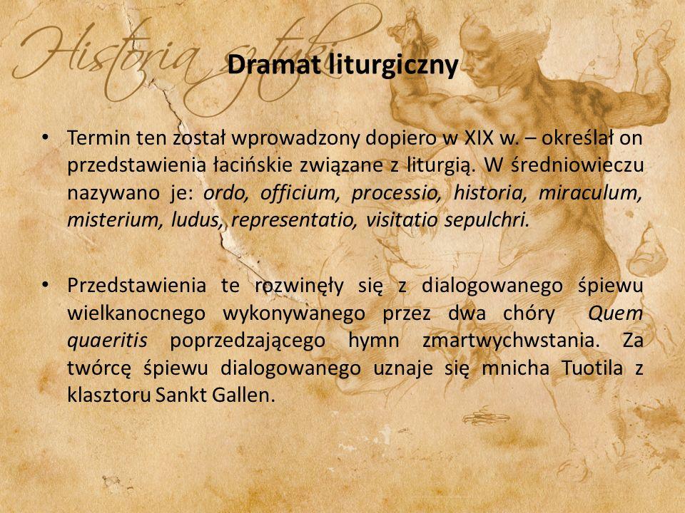 Dramat liturgiczny
