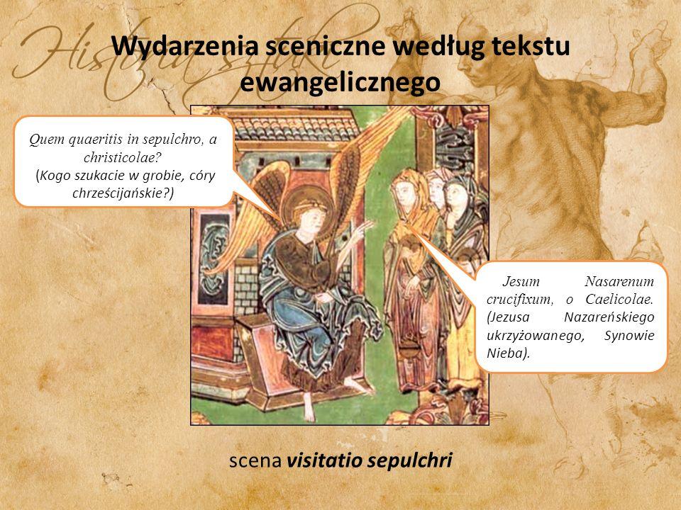 Wydarzenia sceniczne według tekstu ewangelicznego