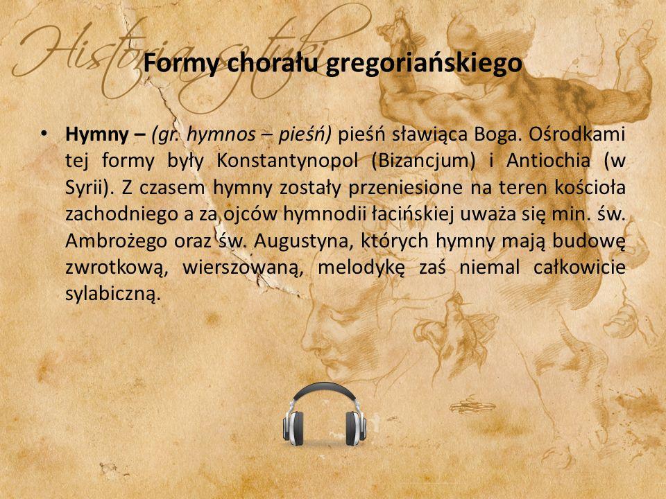 Formy chorału gregoriańskiego