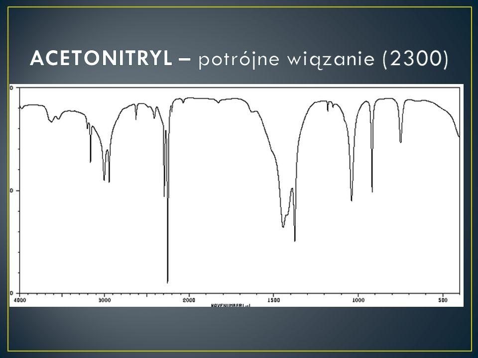 ACETONITRYL – potrójne wiązanie (2300)