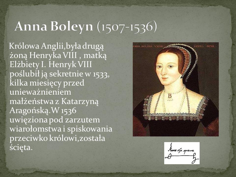 Anna Boleyn (1507-1536)
