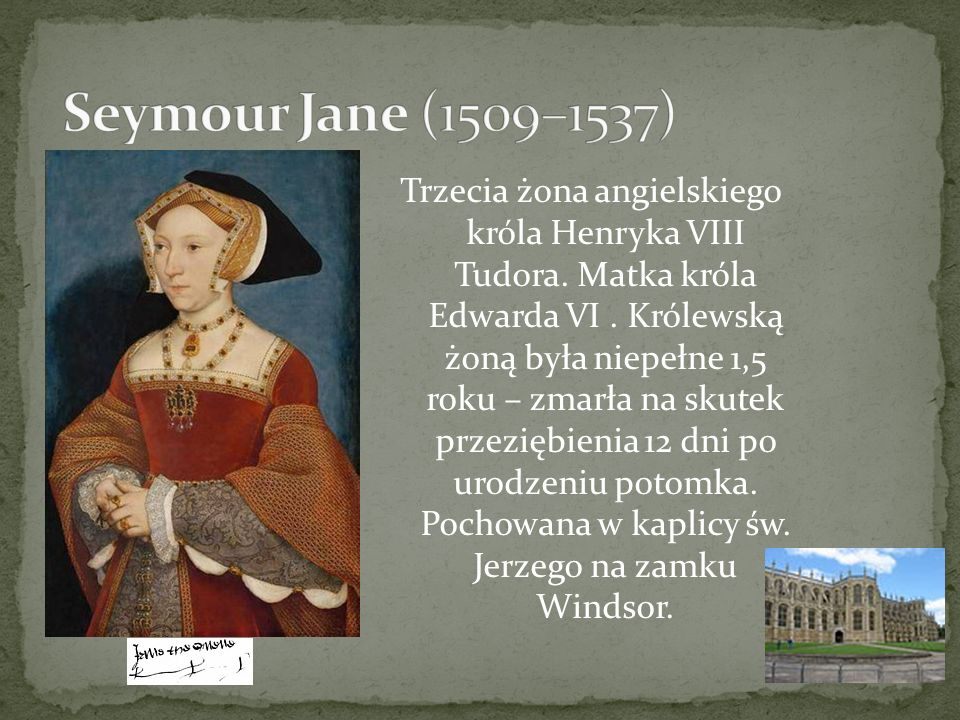 Seymour Jane (1509–1537)