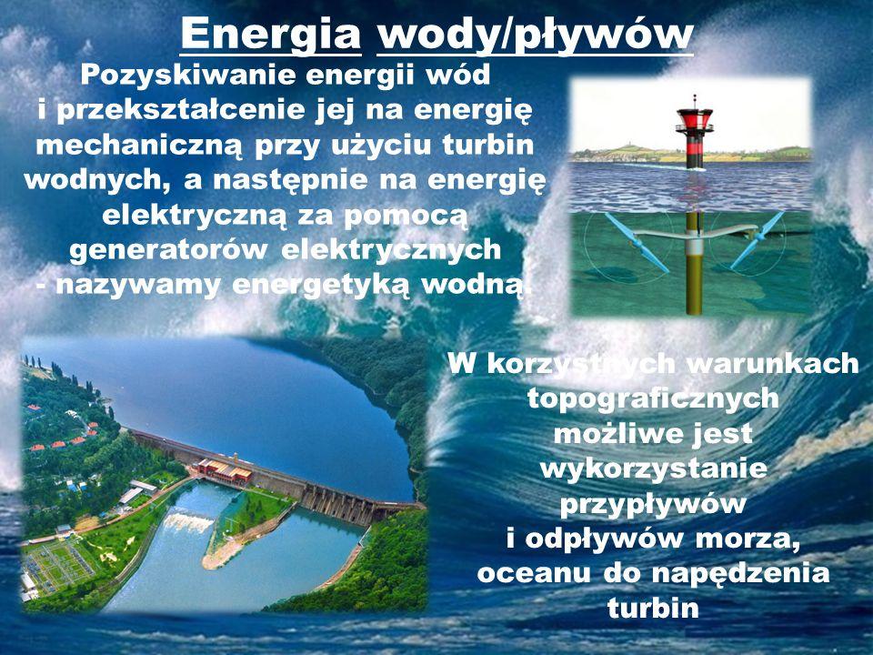 Energia wody/pływów