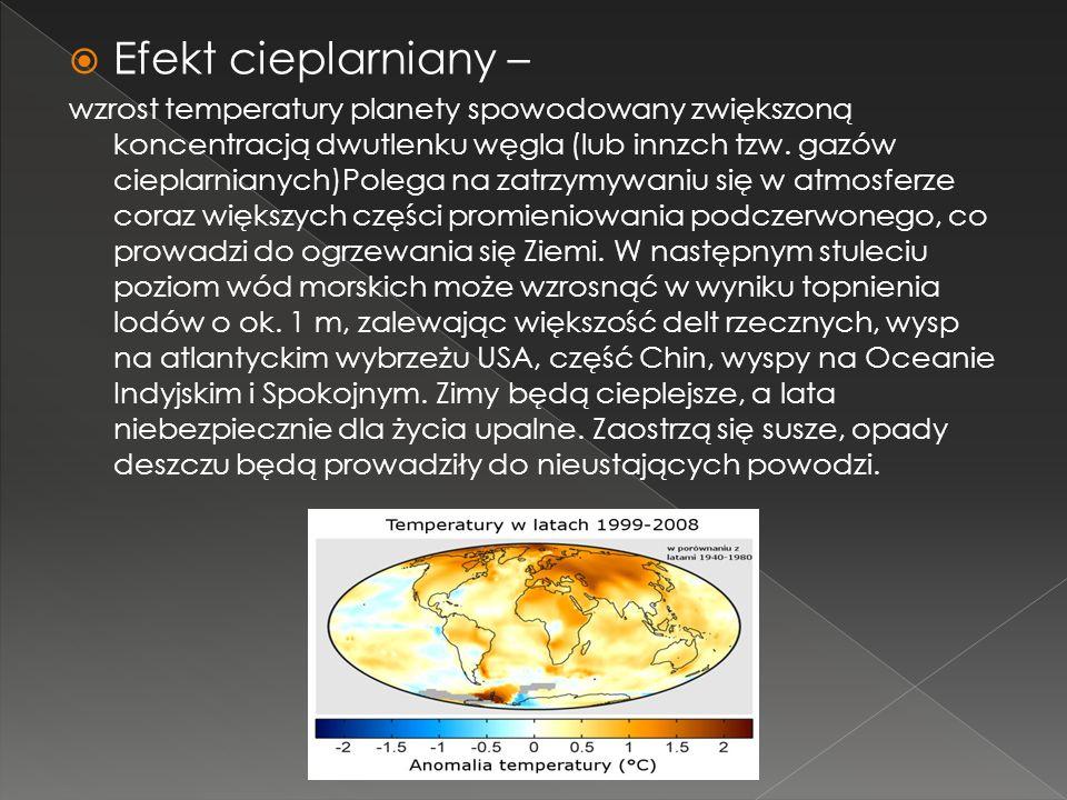 Efekt cieplarniany –
