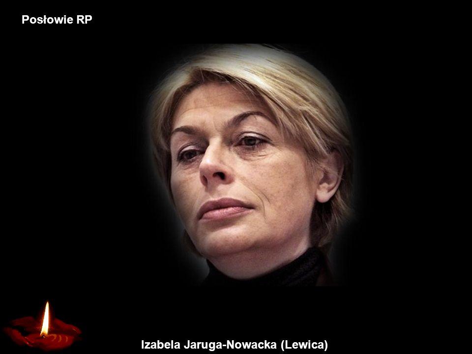 Izabela Jaruga-Nowacka (Lewica)