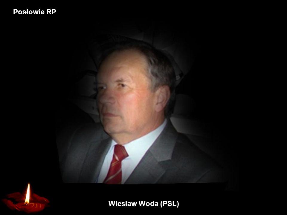 Wiesław Woda (PSL) Posłowie RP
