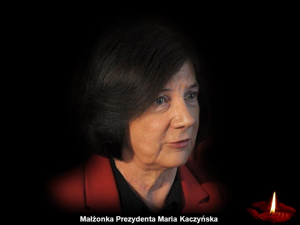 Małżonka Prezydenta Maria Kaczyńska