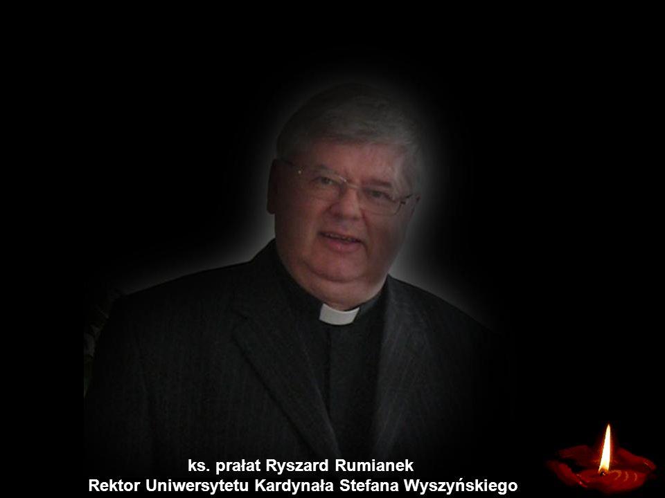 Rektor Uniwersytetu Kardynała Stefana Wyszyńskiego