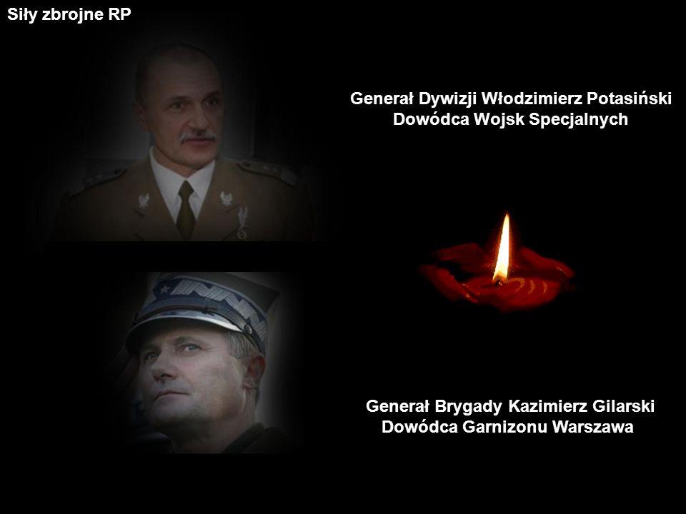 Generał Dywizji Włodzimierz Potasiński Dowódca Wojsk Specjalnych