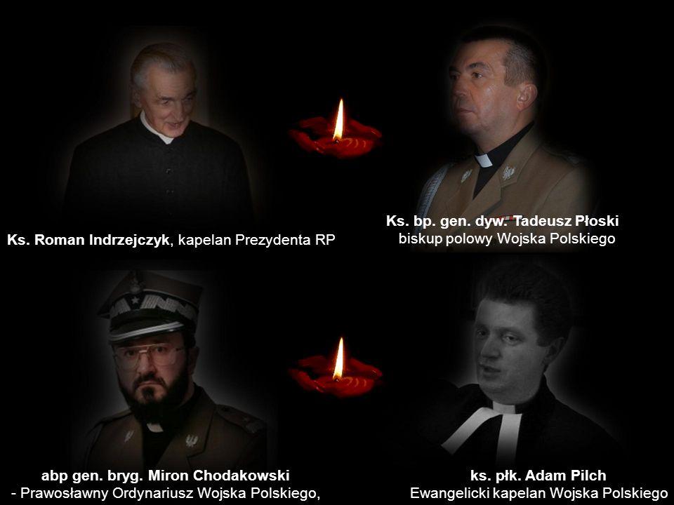 Ks. bp. gen. dyw. Tadeusz Płoski abp gen. bryg. Miron Chodakowski