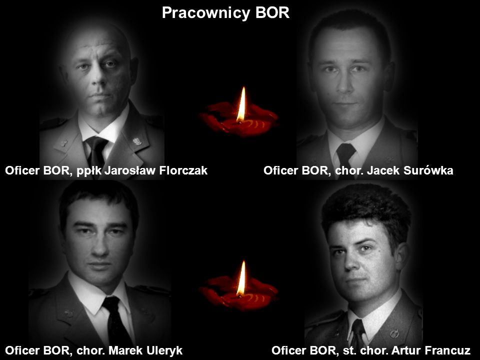Pracownicy BOR Oficer BOR, ppłk Jarosław Florczak