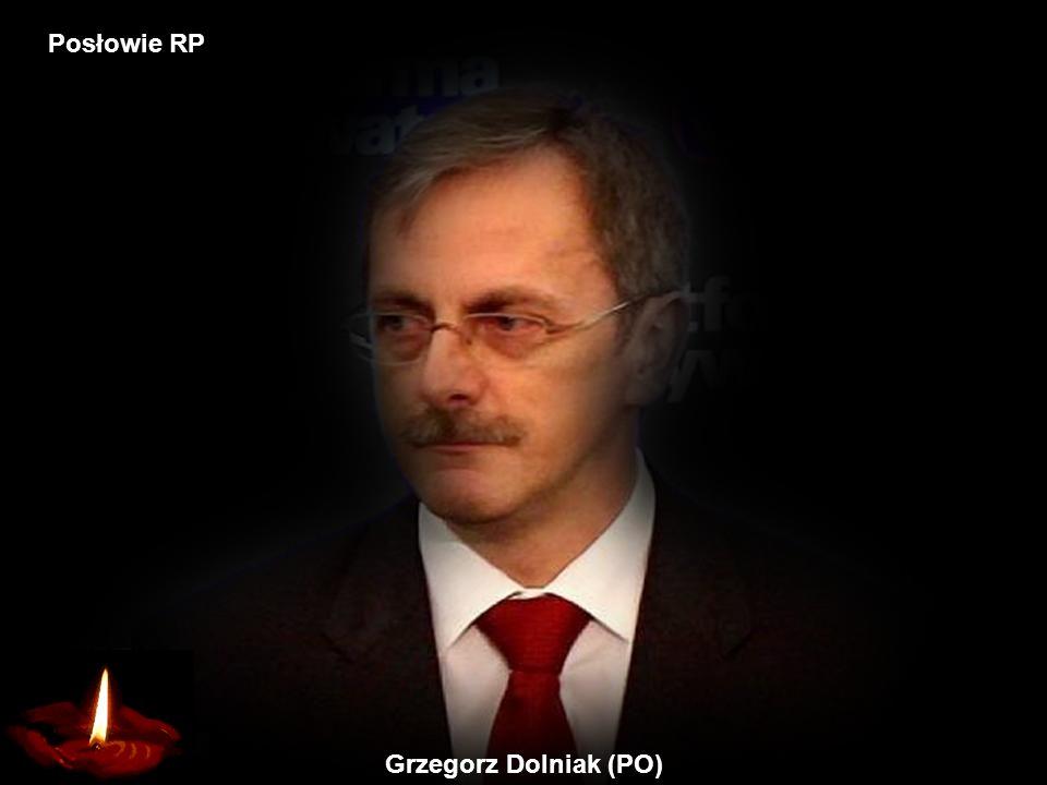 Grzegorz Dolniak (PO) Posłowie RP