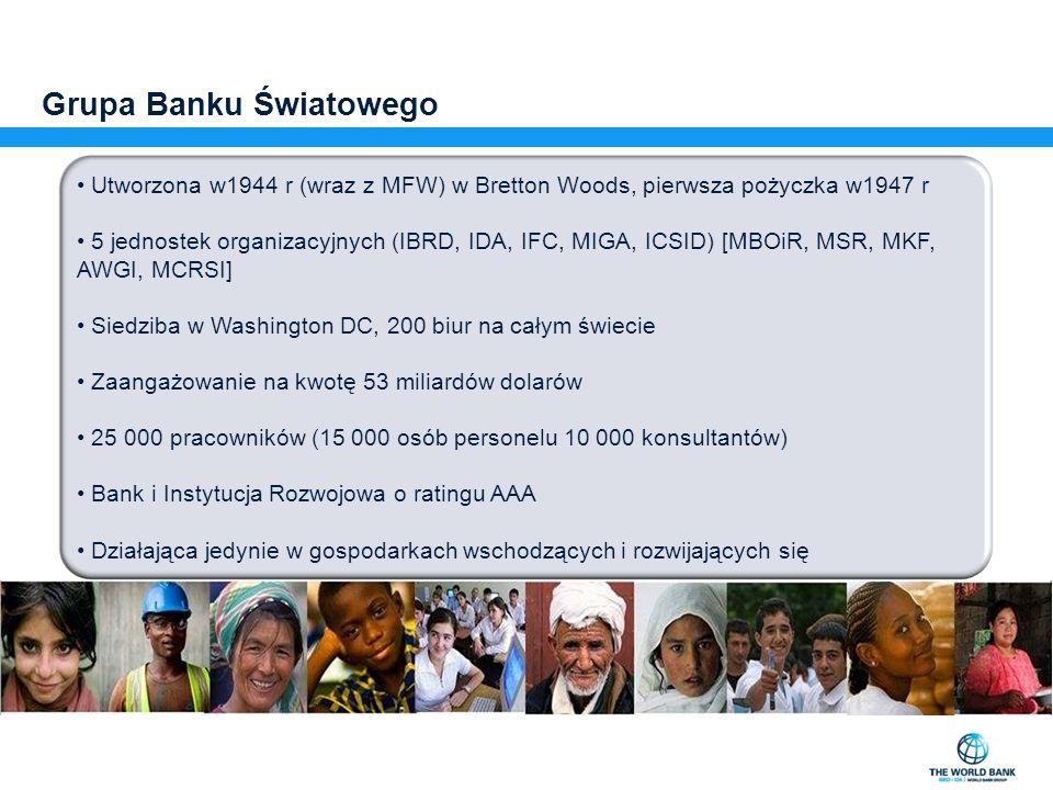 Grupa Banku Światowego: 3 Banki w 1 …