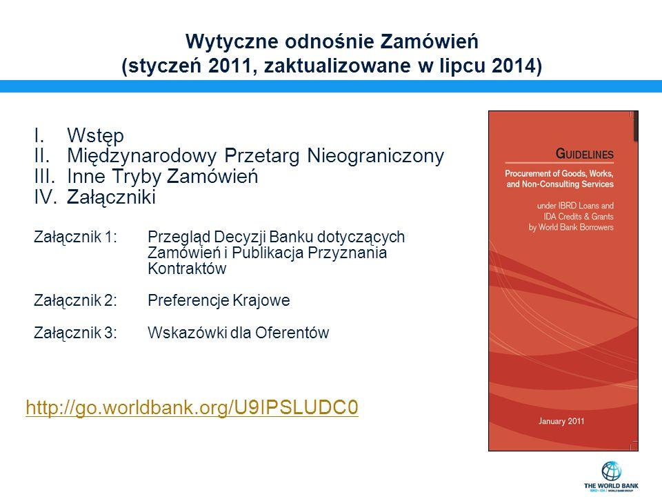 Wytyczne odnośnie Konsultantów (styczeń 2011, zaktualizowane w lipcu 2014)