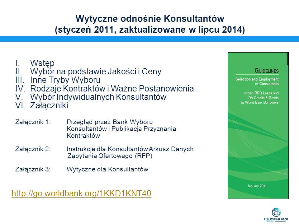 Kto może uczestniczyć w przetargach finansowanych przez Bank Światowy