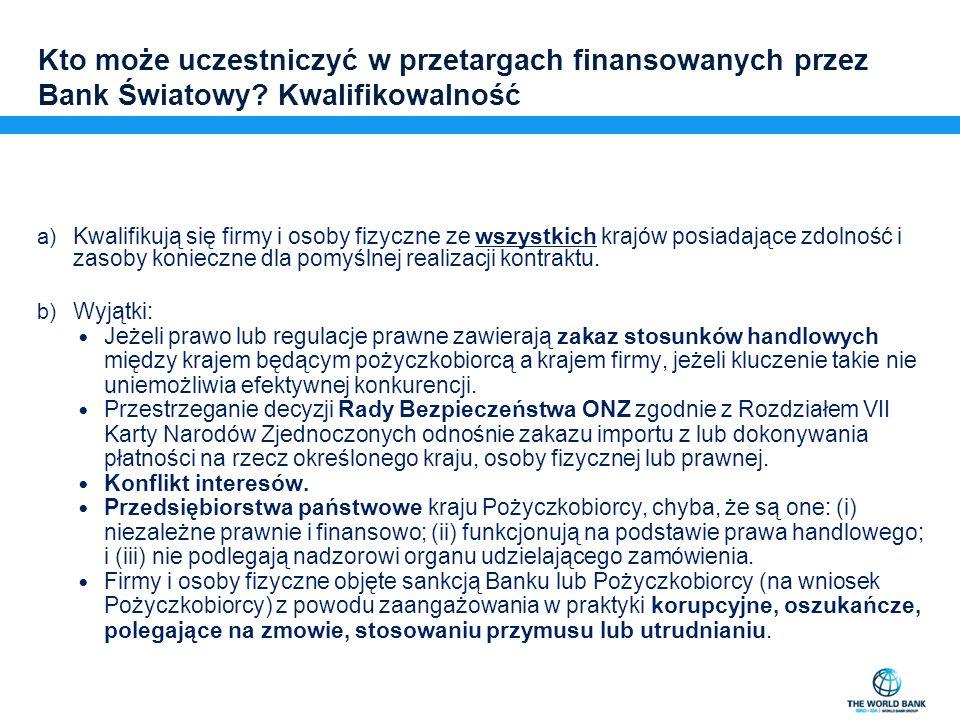 Standardowe Dokumenty Przetargowe i Wzory Umów