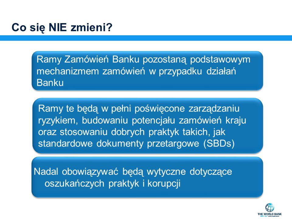 Krajowe Biuro Banku Światowego E bziolkowska@worldbank.org