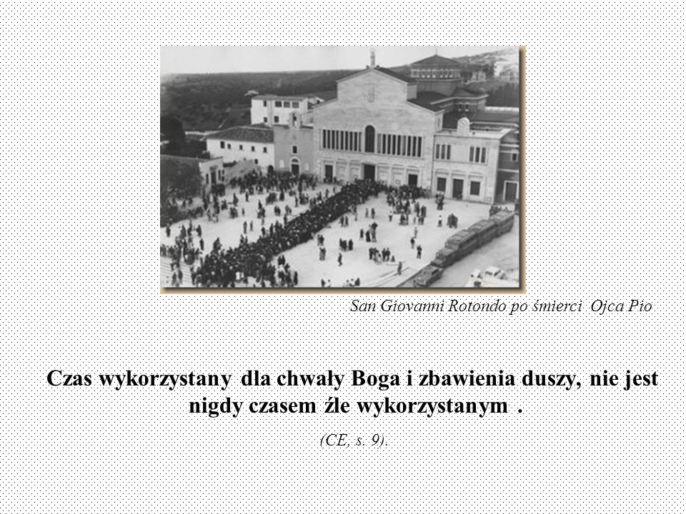 San Giovanni Rotondo po śmierci Ojca Pio