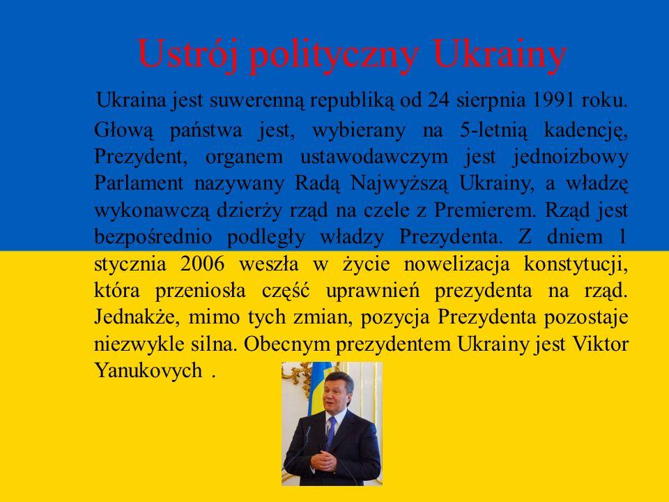 Ustrój polityczny Ukrainy