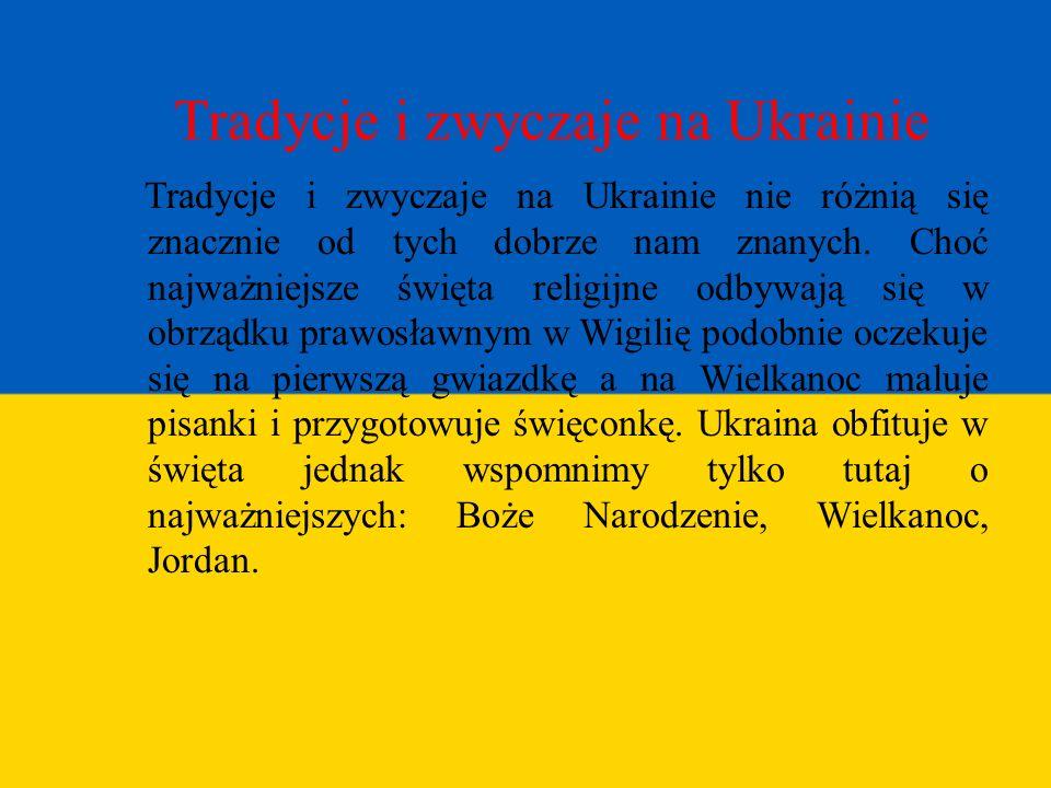 Tradycje i zwyczaje na Ukrainie