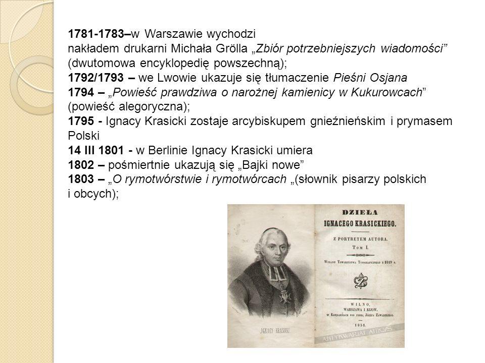 1781-1783–w Warszawie wychodzi