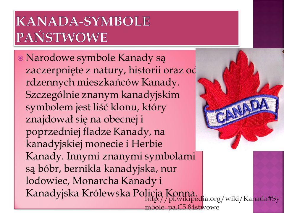 Kanada-symbole państwowe
