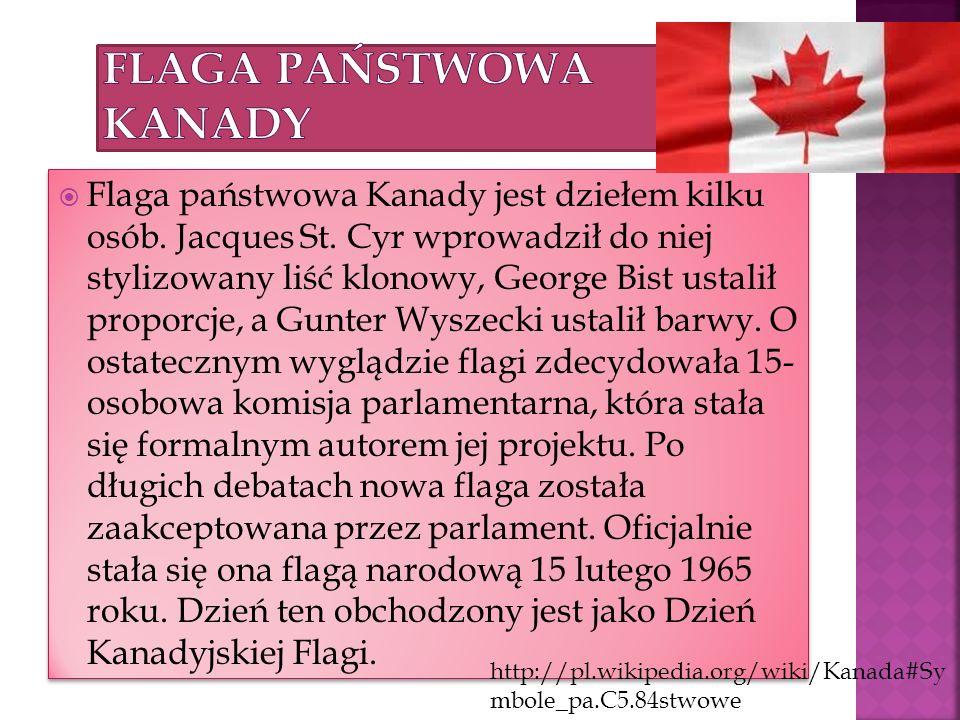 Flaga państwowa Kanady