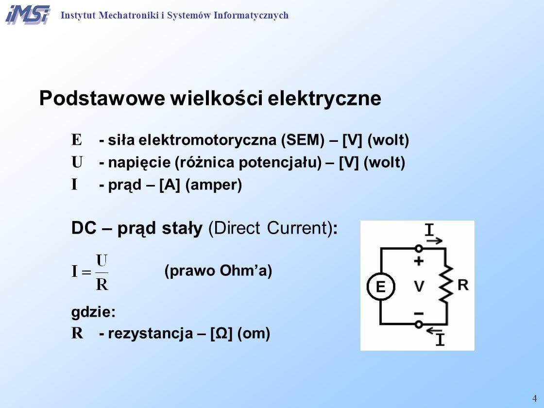 Podstawowe wielkości elektryczne