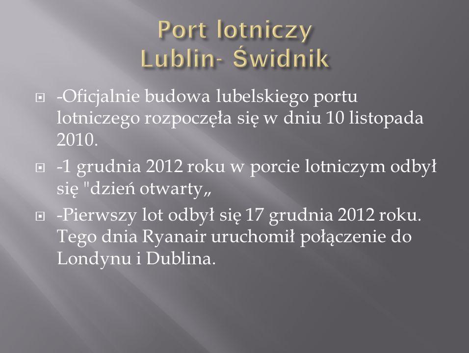 Port lotniczy Lublin- Świdnik