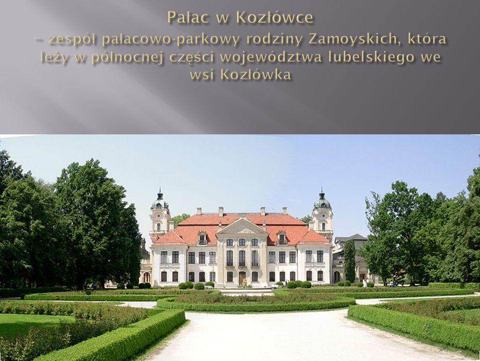 Pałac w Kozłówce – zespół pałacowo-parkowy rodziny Zamoyskich, która leży w północnej części województwa lubelskiego we wsi Kozłówka