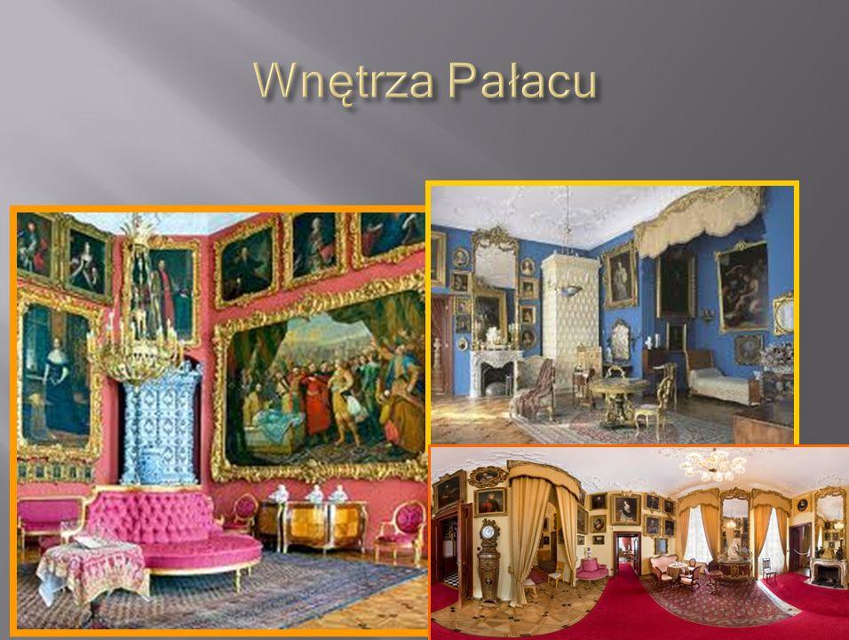 Wnętrza Pałacu