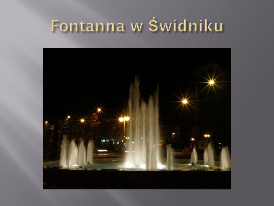 Fontanna w Świdniku