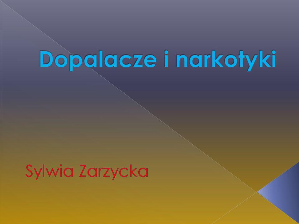 Dopalacze i narkotyki Sylwia Zarzycka