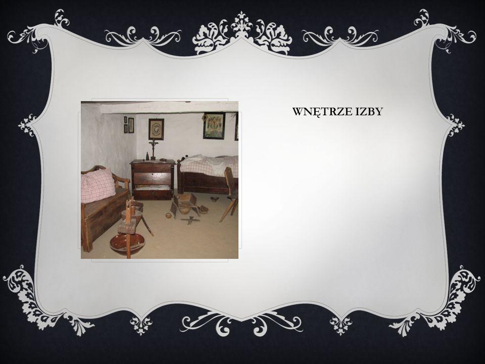 Wnętrze izby