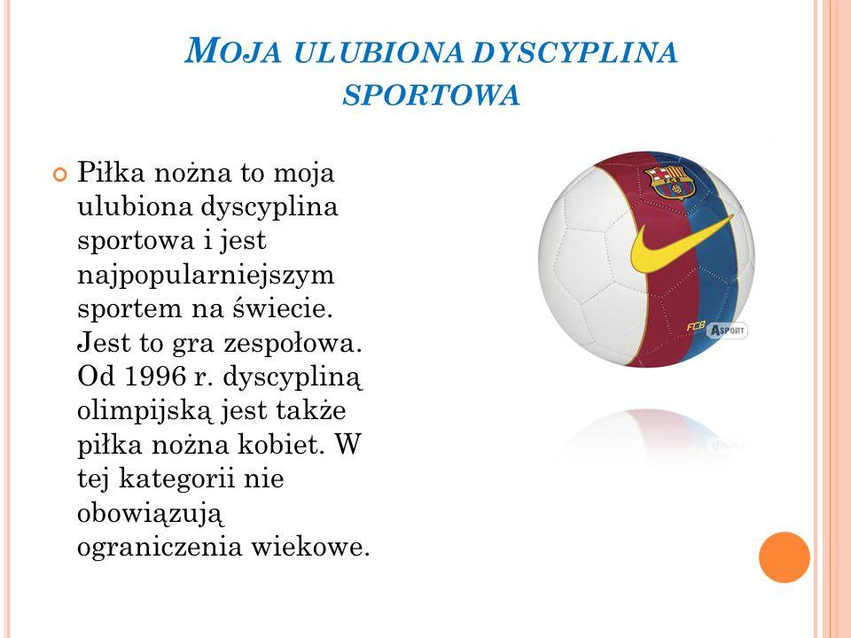 Moja ulubiona dyscyplina sportowa