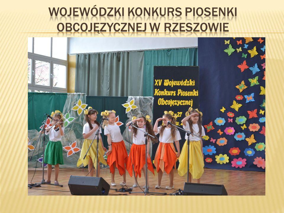 Wojewódzki konkurs piosenki obcojęzycznej w rzeszowie