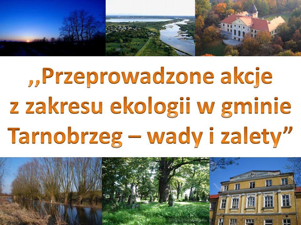 z zakresu ekologii w gminie Tarnobrzeg – wady i zalety